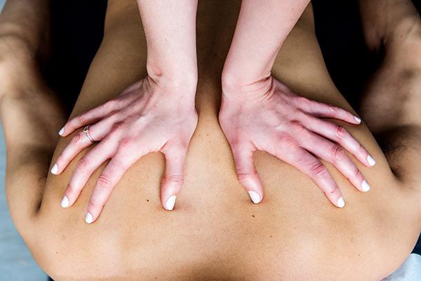 Hands On Chiropractor Adjustment