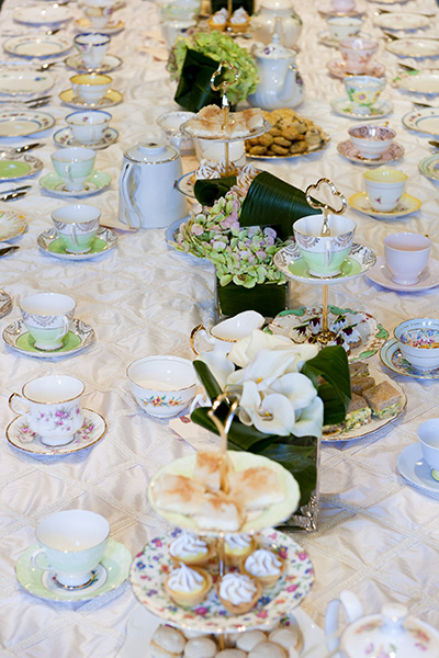 Tea Cups and more Tea Cups