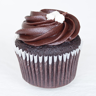 Triple Chocolate Fudge Cupcake