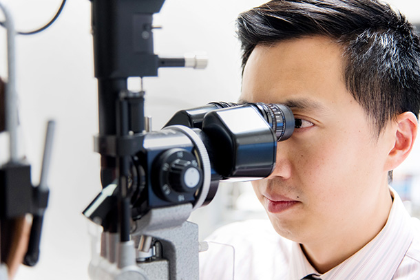Ophthalmologists Vincent Lam