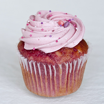 Pretty In Pink Cupcake Flavour
