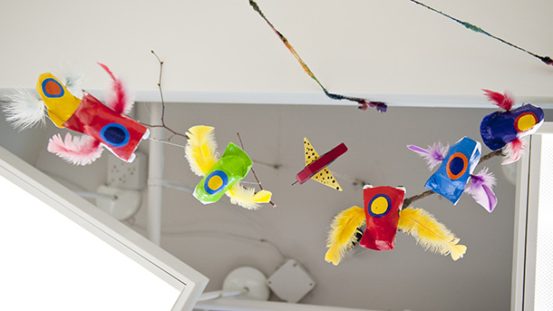 Child Friendly Decor at YED