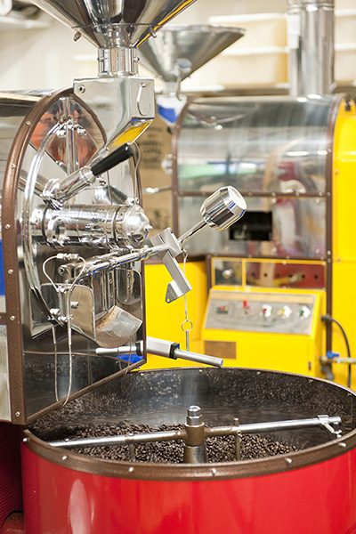 Image of Large Red Coffee Roaster