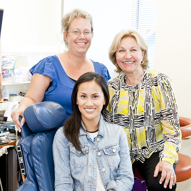 Hygienists at YED
