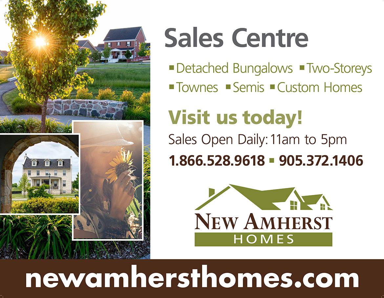 New Amherst Homes Billboard Artwork 1