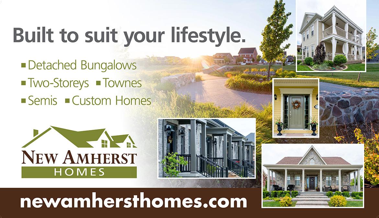New Amherst Homes Billboard Artwork