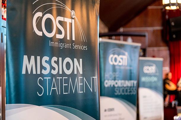 Costi Logo Banners