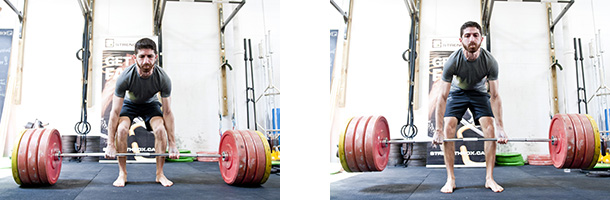 Participant powerlifiting