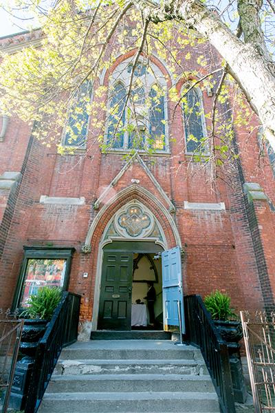 Berkeley Church Entrance