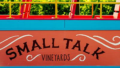 Small Talk Vineyards Logo