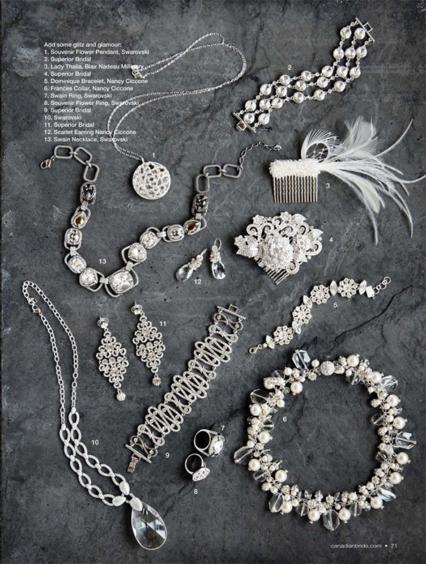 Wedding Jewellry and Hair Accessories final layout