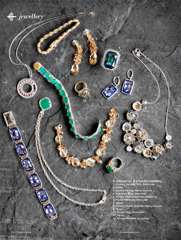 Jewel toned jewellry arragement final layout