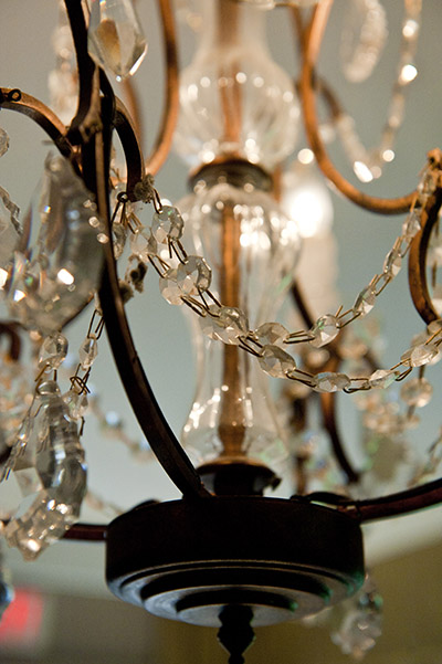 Chandelier, charming interior character