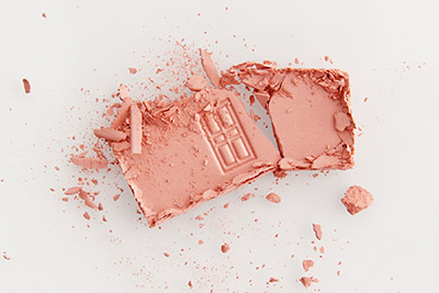 Yves Rocher beauty product photography, eye shadow