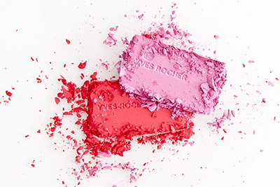 Yves Rocher beauty product photography, 2 eye shadow