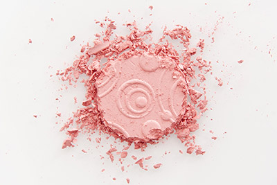 Yves Rocher beauty product photography, 1 eye shadow