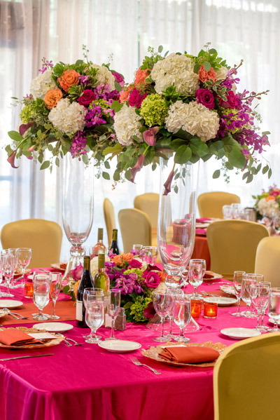 Alderlea Vibrant table setting