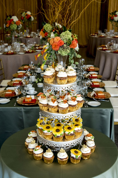 Alderlea tiered cupcake display